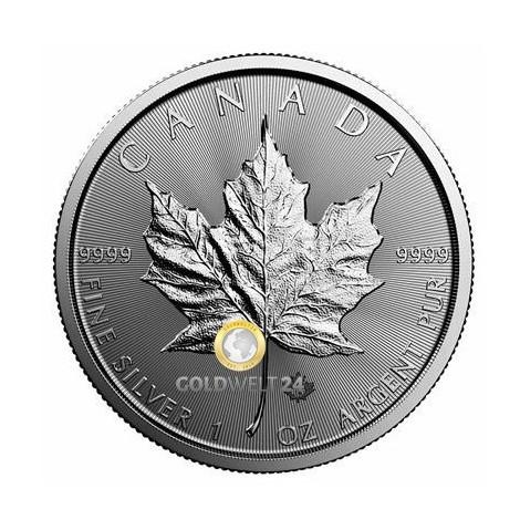 1 Unze Silber Maple Leaf 2020