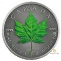 1 Unze Silber Maple Leaf Four Seasons Summer Antik Finish 2020