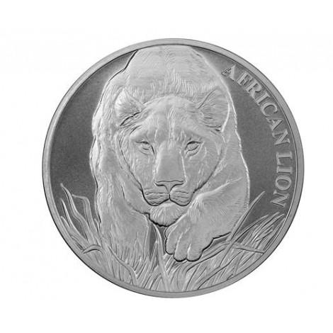 1 Unze Afrikanischer Löwe 2017