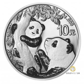 30g Silber China Panda 2021