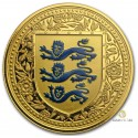 1 Unze Gold the Royal Arms of England Reverse Proof Col.