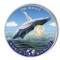 1 Unze Silber World´s Wildlife Wal col. 2020