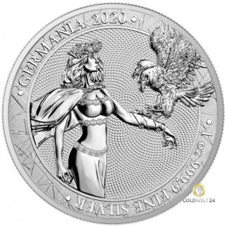 1 Unze Silber 5 Mark Germania 2020