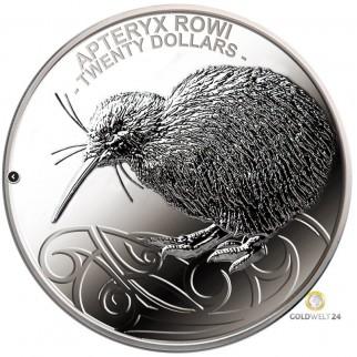 1 kg Silber Kiwi 2020 PP