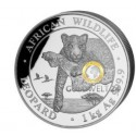 1 kg Silber Somalia Leopard 2020