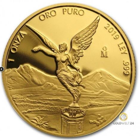 1 Unze Gold Libertad 2018 PP