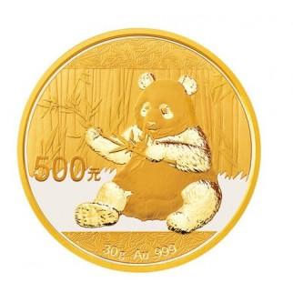30g Gold China Panda 2017