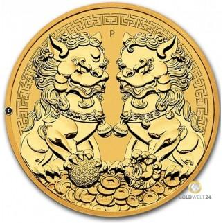 2 Unzen Gold Guardian Lions 2020 HR