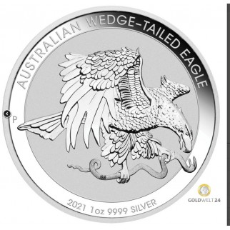 1 Unze Silber Wedge Tailed Eagle 2021