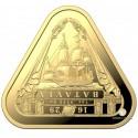 1 Unze Gold TRIANGULAR Batavia 2019