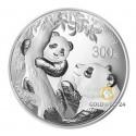 1 kg Silber China Panda 2021 (Polierte Platte)
