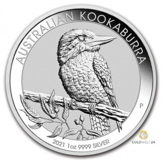 1 Unze Silber Australien Kookaburra 2021