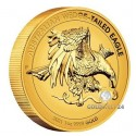 1 Unze Gold Wedge Tailed Eagle 2021 High Relief PP