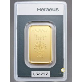 20g Goldbarren Heraeus