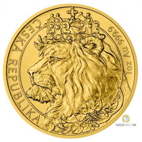 1 Unze Gold Löwe 2021