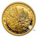 1 Unze Gold The Red Flag Fleet 2021 Black Flag