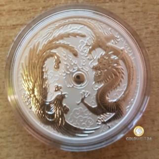 1 Unze Silber Dragon