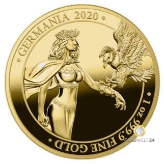1 Unze Gold Germania 2020 BU