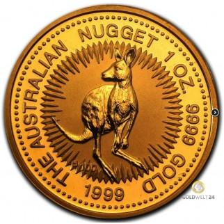 1 Unze Gold Känguru 1999