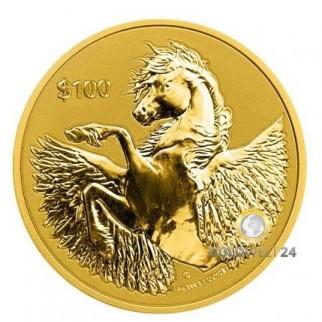 1 Unze Gold Pegasus 2021