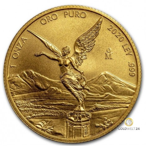 1 Unze Gold Libertad 2020 BU