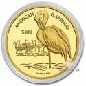1 Unze GoldAmerican Flamingo 2021