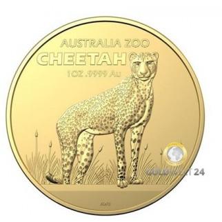 1 Unze Gold Gepard 2021