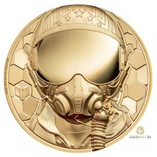 1 Unze Gold Kampfpilot 2020 PP