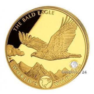 1 Unze Gold World´s Wildlife Wal 2020