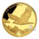 1 Unze Gold World´s Wildlife Weißkopfseeadler 2021