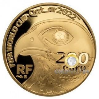 200 Euro Gold Centre George Pompidou 2010 PP