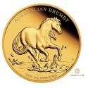 1 Unze Gold Australian Brumby 2021 PP