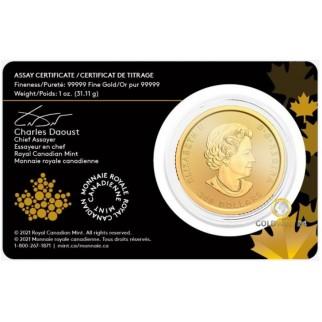 1 Unze Gold Klondike Goldrausch