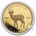 1 Unze Gold Mandala Antilope 2021