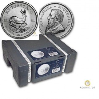500*1 Unze Silber Krügerrand 2021 (Masterbox Krügerrand)