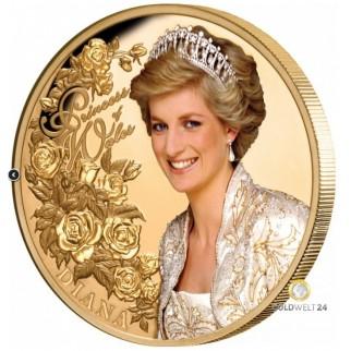 1 Unze Gold Diana 2021 PP