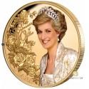 Zertifikat Nr. 10*1 Unze Gold Diana 2021 PP