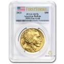 1 Unze Gold American Buffalo 2021 PCGS MS70