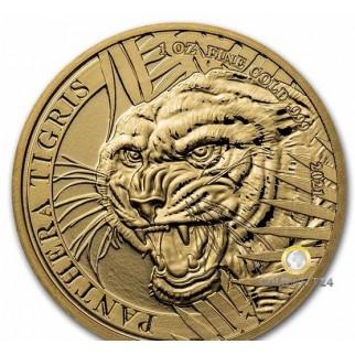 1 Unze Gold Laos Tiger 2021