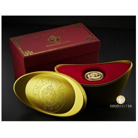 1 Unze Gold Samoa Lunar Dragon 2024
