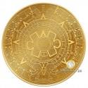 1 Unze Gold Samoa Aztekenkalender