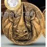 1 Unze Gold Big Five Mauquoy Löwe 2020 AF