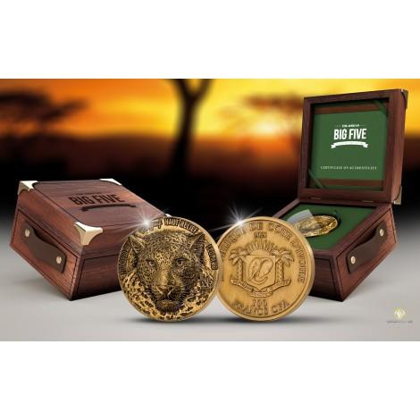 1 Unze Gold Big Five Mauquoy Nashorn 2021 AF