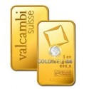 1 Unze Goldbarren Valcambi