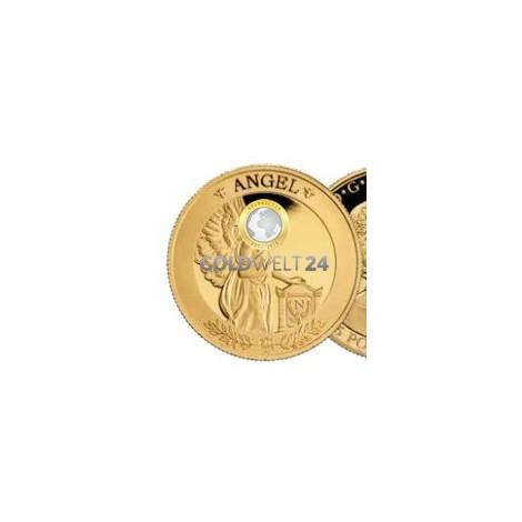 1 Unze Gold St. Helena Napoleon Angel PP
