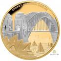 1 Unze Gold Sydney Harbour Bridge 2022 pb. PP (90 Jahre)