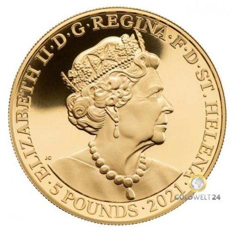 1 Unze Gold Napoleon 2021 PP