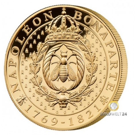 1 Unze Gold Napoleon Bonaparte Biene 2021 PP