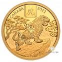 1/2 Unze Gold Lunar Tiger 2021