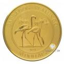 1 Unze Gold Barbados Flamingo 2021